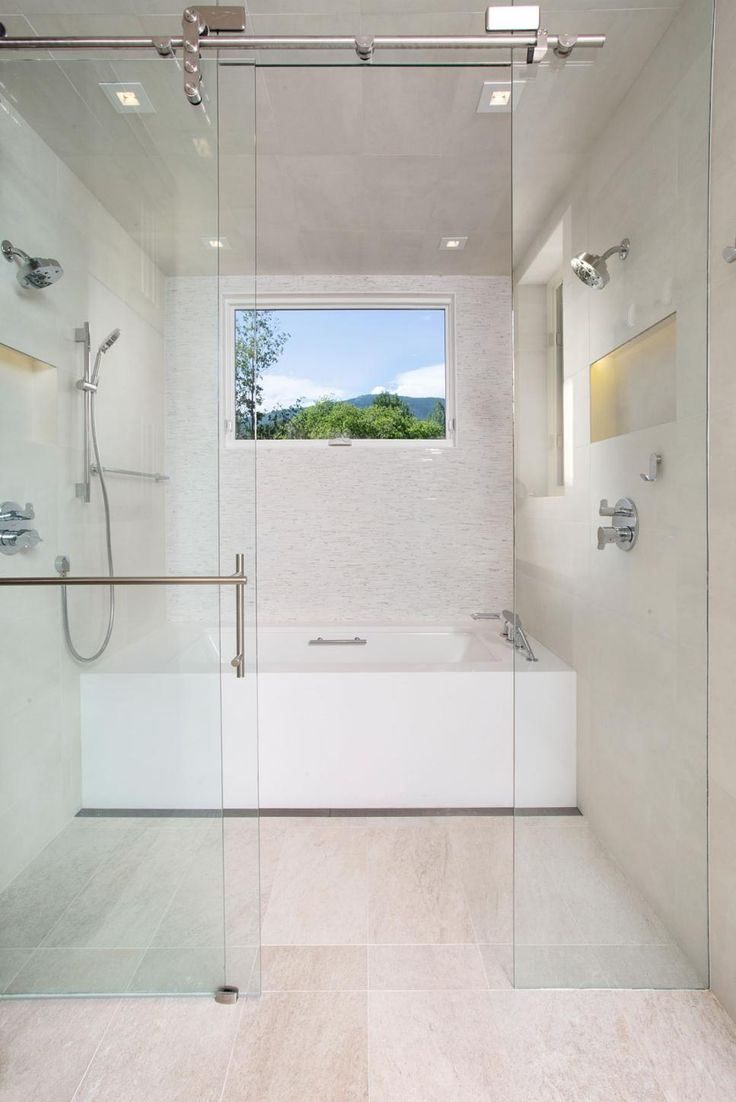 Wet Room Design: Large And Luxurious Walk-In Showers
