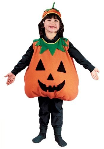 Now your little one can become the symbol of Halloween! This Child Pumpkin Costume is a comfortable and cute costume for both boys and girls!