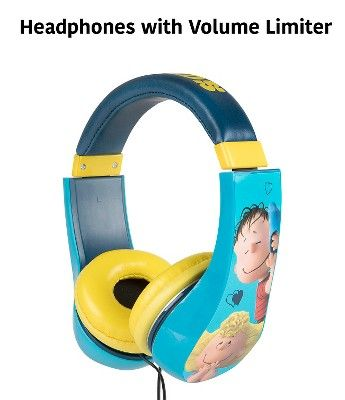 Peanuts Multicolored Peanuts Movies Kid's Headphones, Assorted