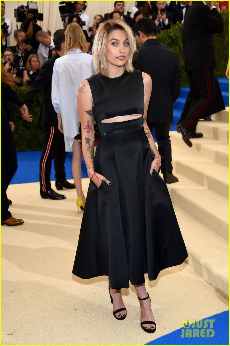 Paris Jackson Shows Off Tattoos At Met Gala 2017