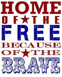 FREE/BRAVE: Subway Art, Fourth Of July, Quote, Military Men, Veterans Day, God Blessed, 4Th Of July, Independence Day, Memories Day