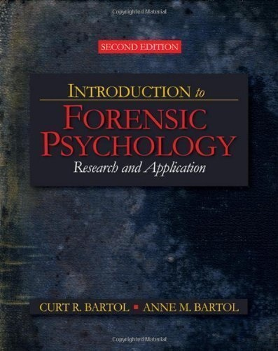 an introduction to the field of forensic psychology This extensive, up-to-date core text introduces students to new, emerging fields of  study within forensic psychology emphasizing a contemporary developmental.