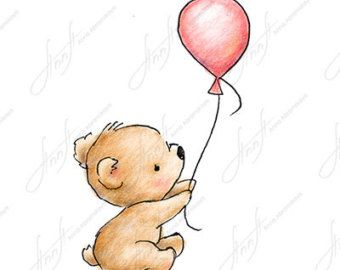 cute teddy bear drawing - Google Search