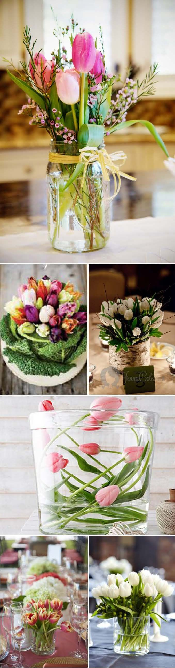 liebelein-will, Hochzeitsblog - Hochzeit, Blog, Tulpen, Tischeko 2