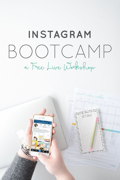 Instagram Bootcamp: A FREE Live Workshop   Think Creative Collective