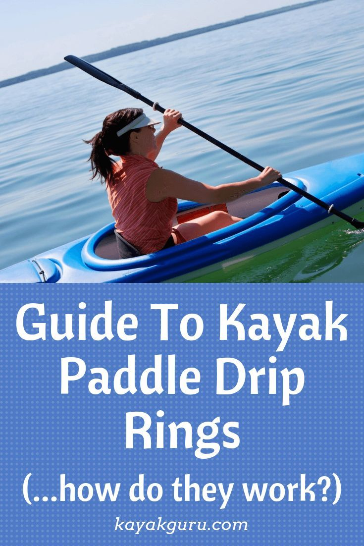 Kayak Paddle Drip Rings How They Work User Guide Kayakguru Com Kayak Paddle Kayaking Tips Kayak Accessories