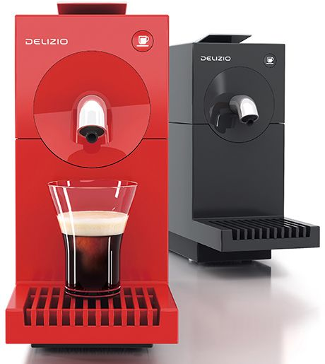 Capsule coffee machine, designed by Swiss clock maker.