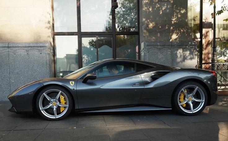 Cool Ferrari 2017: Ferrari 488 GTB painted in Grigio Silverstone   Photo taken by: Josh Cartu on In... Check more at http://24cars.top/2017/ferrari-2017-ferrari-488-gtb-painted-in-grigio-silverstone-photo-taken-by-josh-cartu-on-in/