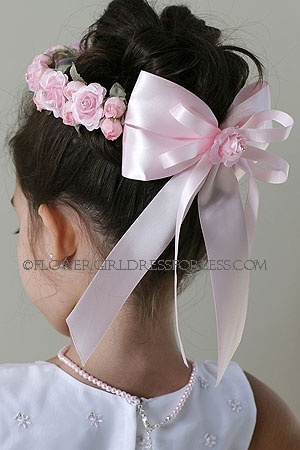 flower crown for flower girl