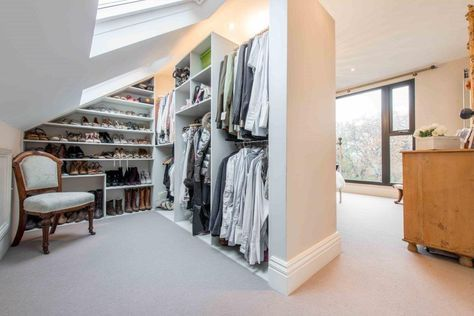 loft conversion dressing room - Google Search