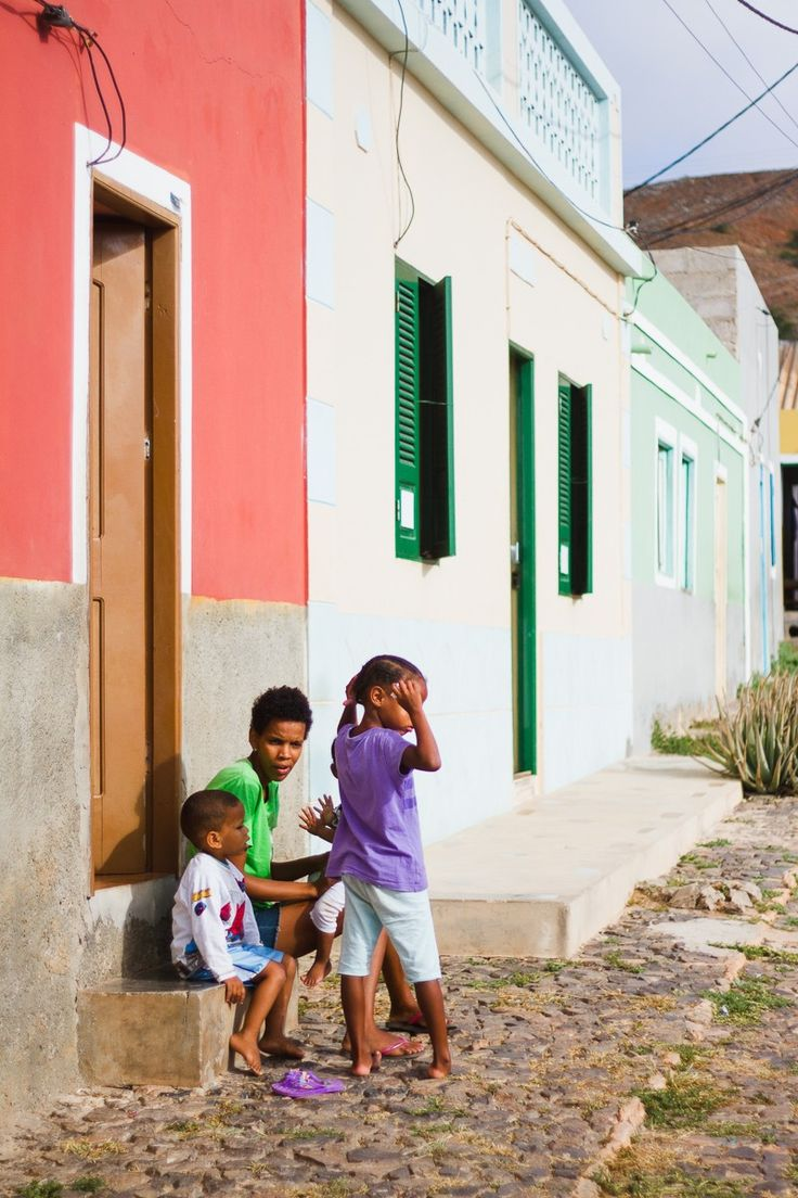 'Nearly everyone speaks Crioulo, an Africanised Creole Portuguese. Portuguese (the official language) is spoken fluently by most townspeople but is not well understood in outlying villages.' Cape Verde: the Bradt Guide www.bradtguides.com