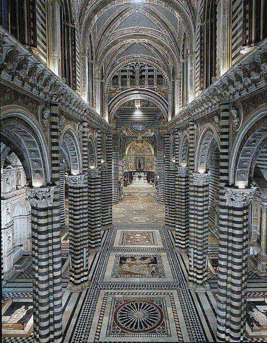 Siena cathedral tuscany italy