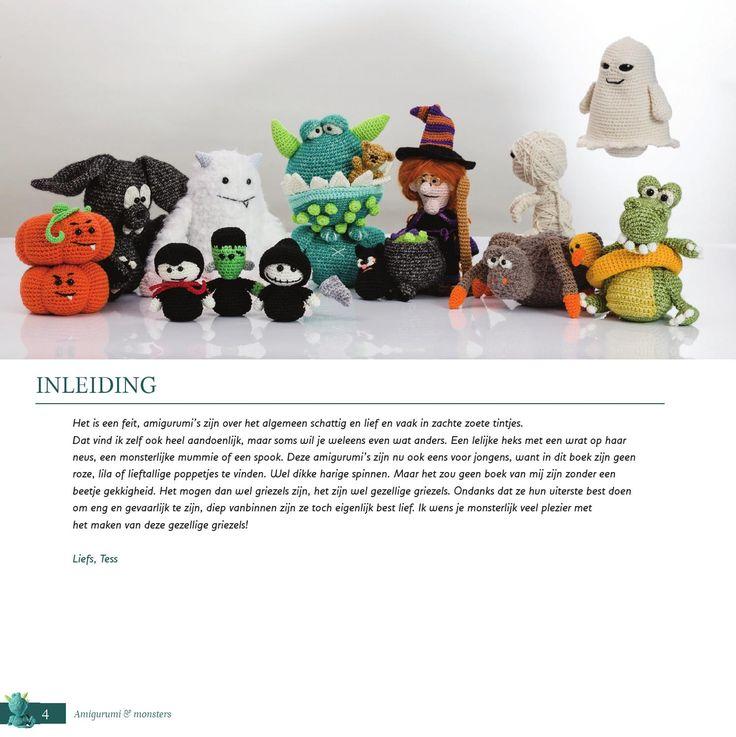 Amigurumi Monsters Tessa Van Riet : 25+ beste idee?n over Groene draak op Pinterest - Draken ...