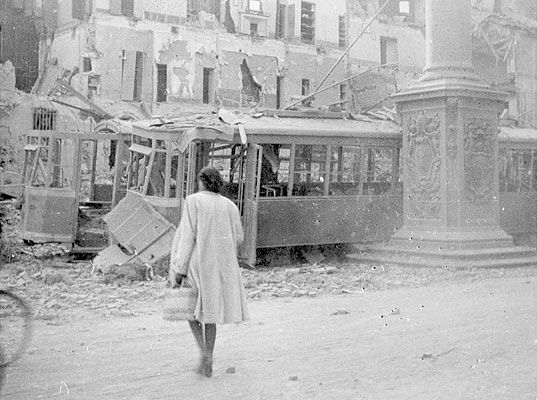 Bologna after bombing, pin by Paolo Marzioli