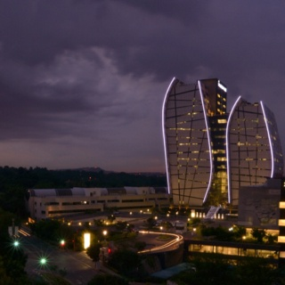 Norton Rose building as seen from the Sandton Sun hotel deck #Sandton #Johannesburg