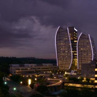 Norton Rose building as seen from the Sandton Sun hotel deck #Sandton #Johannesburg