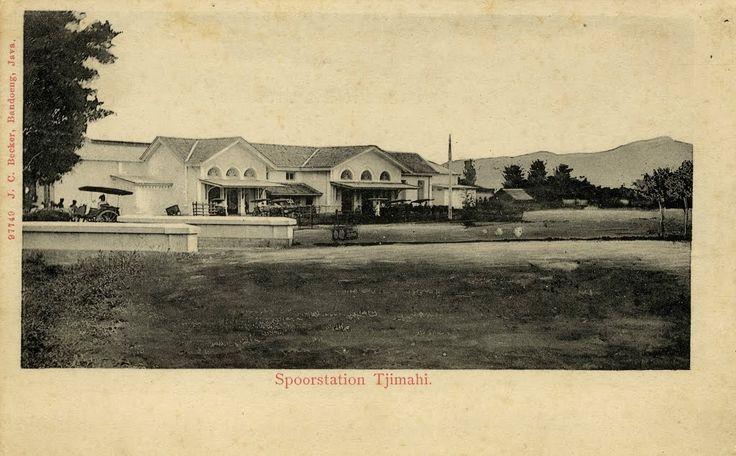 Staatsspoorweg Tjimahi 1895 - 1907