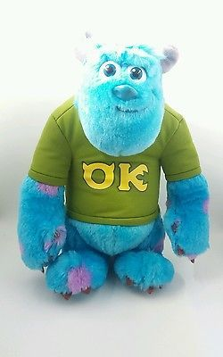 Monsters University Disney Pixar Talking Sully  Scare Pal Plush