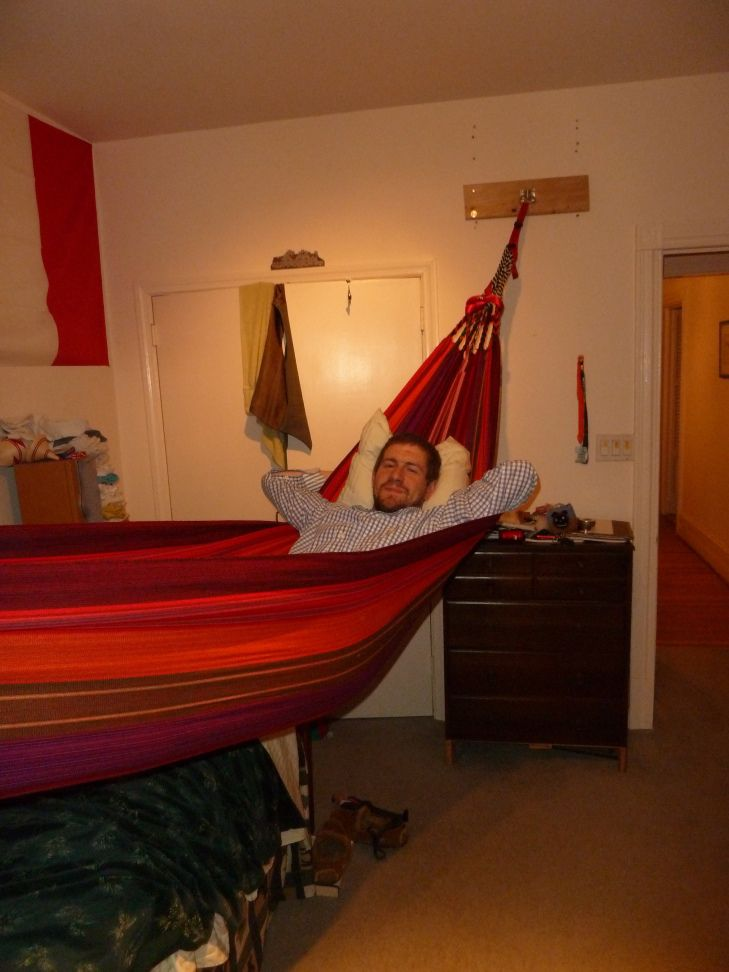 bedroom hammocks. III of John s Bedroom Renovation Project  Hanging a Hammock 29 best Living images on Pinterest Hammocks Future
