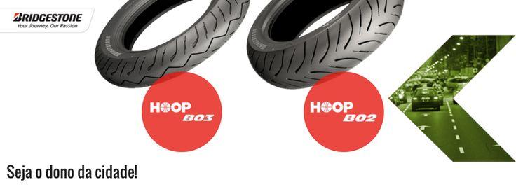 BRIDGESTONE | HOOP B02 e B03 Scooter || A segurança de uma moto depende, em muito, do estado e qualidade dos pneus. Viaje com segurança na selva urbana, de forma confortável e eficiente, com os pneus HOOP B02 e HOOP B03. Desfrute do prazer de andar na estrada! #bridgestone #lusomotos #moto #pneus #segurança #conforto #Hoop #condução #estrada #urbano #Hoopb02 #Hoopb03