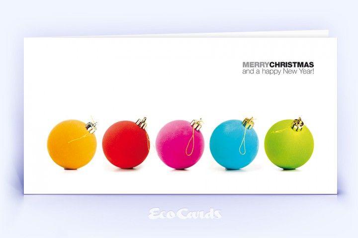 Die in weißen Farbtönen gehaltene geschäftliche Weihnachtskarte und weitere exklusive Designs für Grußkarten geschäftlich online drucken lassen.