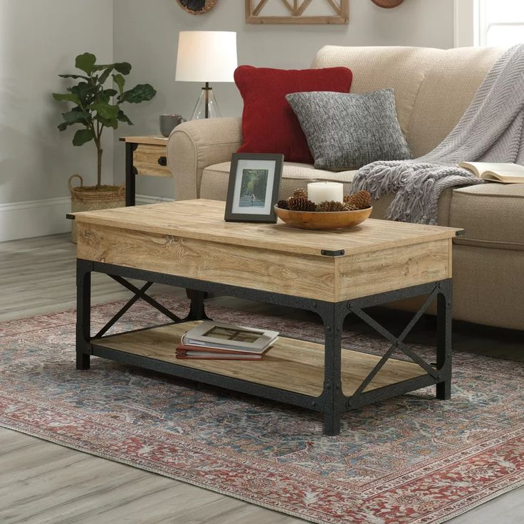 Williston Marblehead Lift Top Coffee Table with