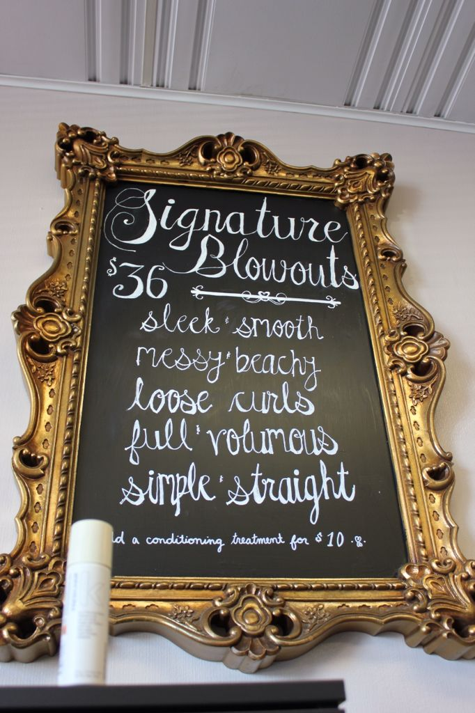 Blowdry bar