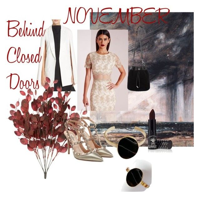 """""""november"""" by magazineboy on Polyvore featuring Elliatt, Missguided, Valentino, Alexander Wang and Manic Panic"""