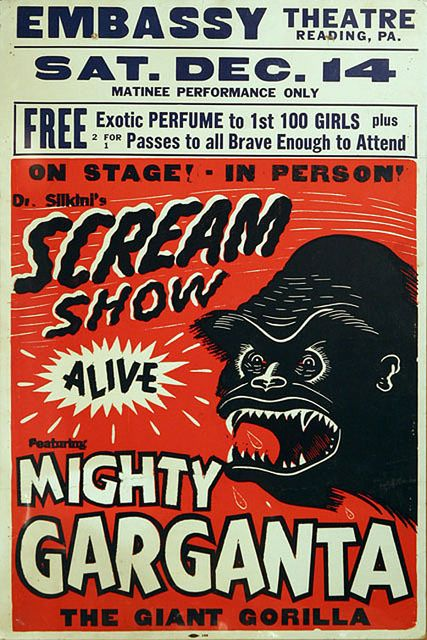 """I've been feeling like screaming recently. I need to go to a """"scream show""""."""