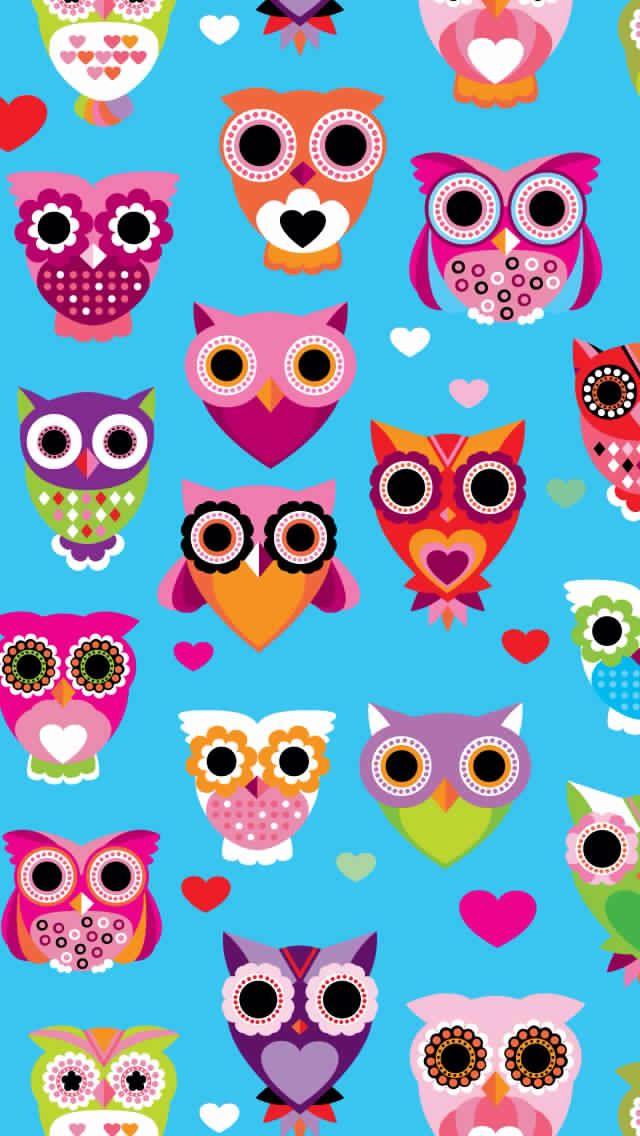 Vintage owl wallpaper - photo#28