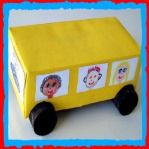 Black History Month Rosa Parks Bus Craft For Kids! Here's