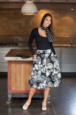 that bird label Jay Skirt - Womens Knee Length Skirts - Birdsnest Online Fashion