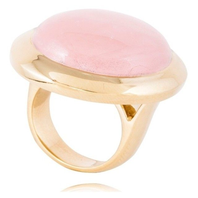 """Rose Quartz Kate ring"" by mateobrown-jewellery on Polyvore"