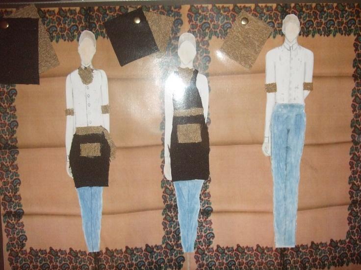 the parlour uniforms