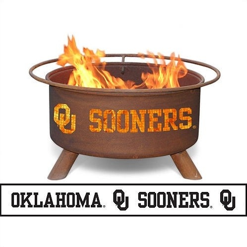 Patina Products University of Oklahoma Fire Pit - F218