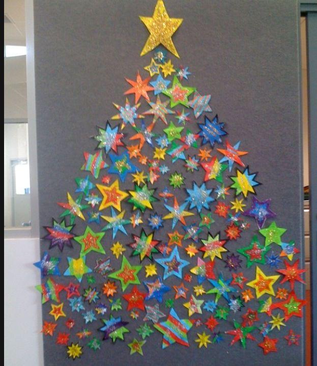 Cool holiday bulletin board idea