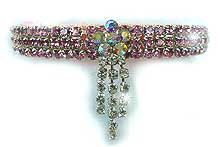 Glitter 4 Your Critter Rhinestone Dog Collars, Rhinestone Cat Collars, Aurora Crystal Collars