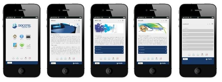 Iphone - Website Mobile Version Mockup