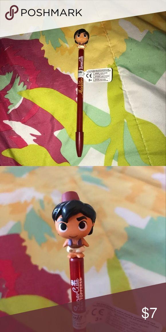 Disney Aladdin SuperCute Funko Pop Pen BRAND NEW NEVER USED No TRADES Price is Firm Accessories