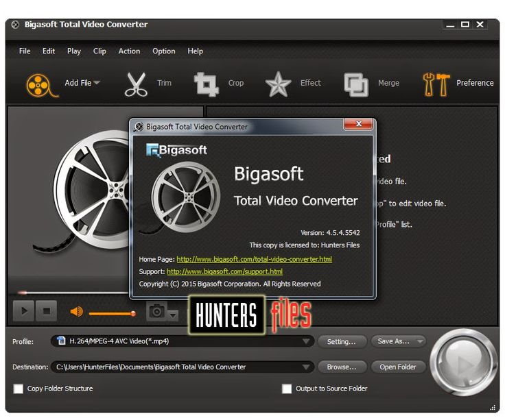 Bigasoft total video converter serial ~ smversion