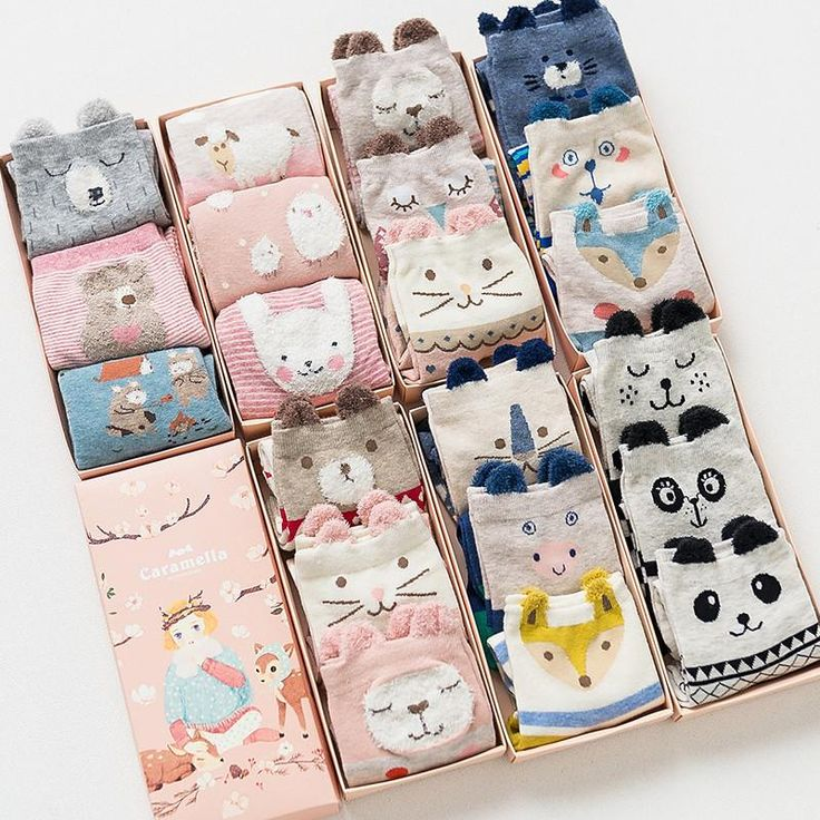 Gift box women autumn winter cute 3d ears cartoon animal cotton socks for woman fashion.                      US 5-9(Eur35-40)  3pairs/gift box                            About Shipment:    Most orders will be shipped within 1-3 business days after cleared payment by air mail with tracking number        Wholesale and drop shipping are both welcomed.    For wholesale,we will offer discount or free express shipping which only takes 3-7 days to arrive.    For drop shipping,we…