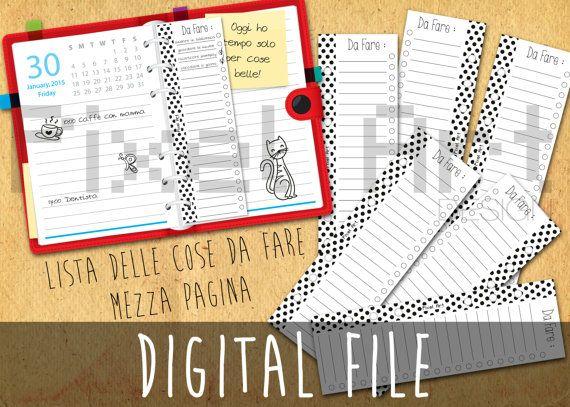 Lista delle cose da fare  file digitale  di afPixelArtDesign