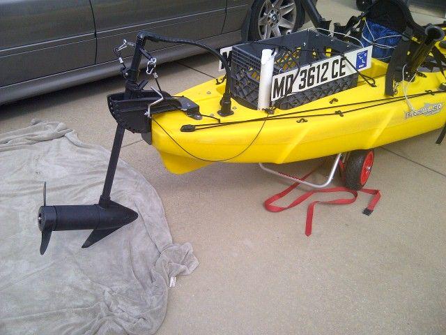 171 best images about kayak fishing on pinterest ocean for Fishing kayak with trolling motor