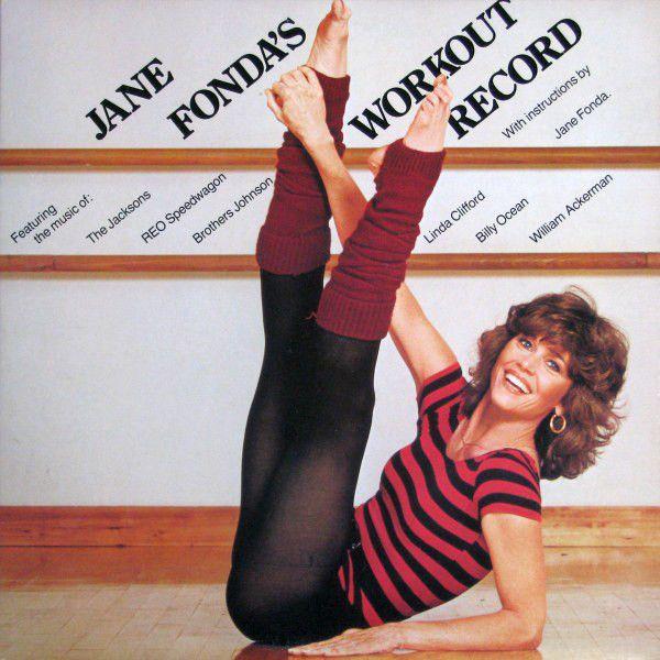 Various - Jane Fonda's Workout Record 1982 (Vinyl, LP) compilation/2records/gatefold at Discogs