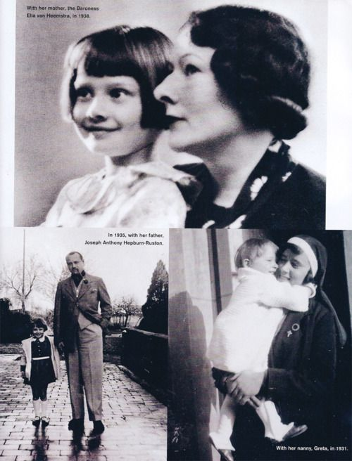 Town and Country May 2003    Special Issue: Audrey Hepburn A Loving Look (with her mother, father and nanny)