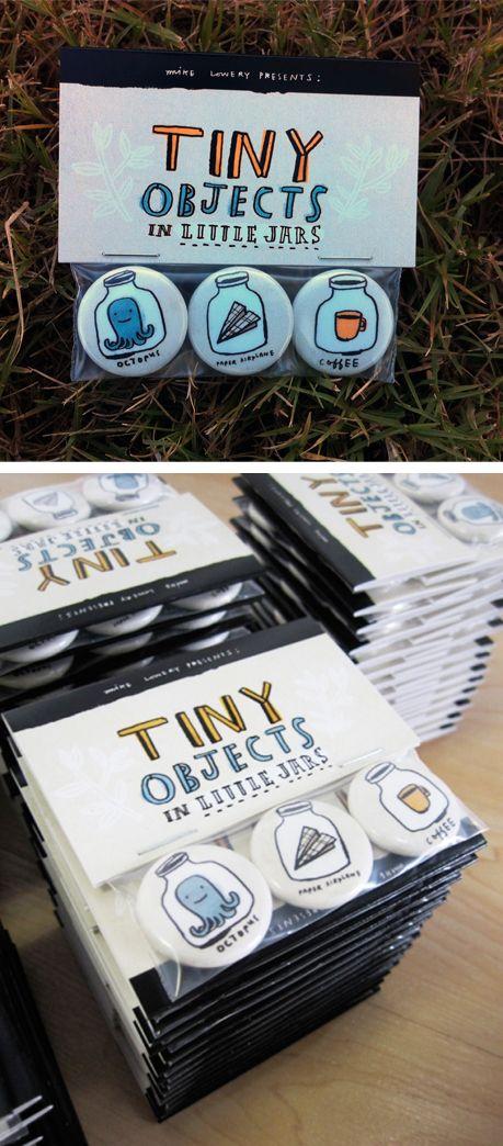 badges = nice packaging = nice illustrations
