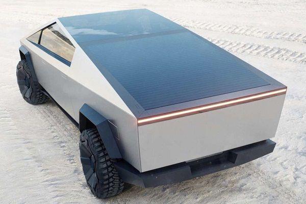 Tesla Cybertruck Coche Solar Porsche 911 Porsche