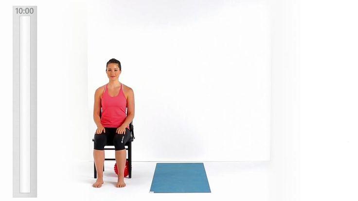 Obtenez des tutoriaux vidéos sur Pilates au bureau pour travailler . Obtenez les détails de la séance d'entraînement, le calendrier et des entraînements corrélés