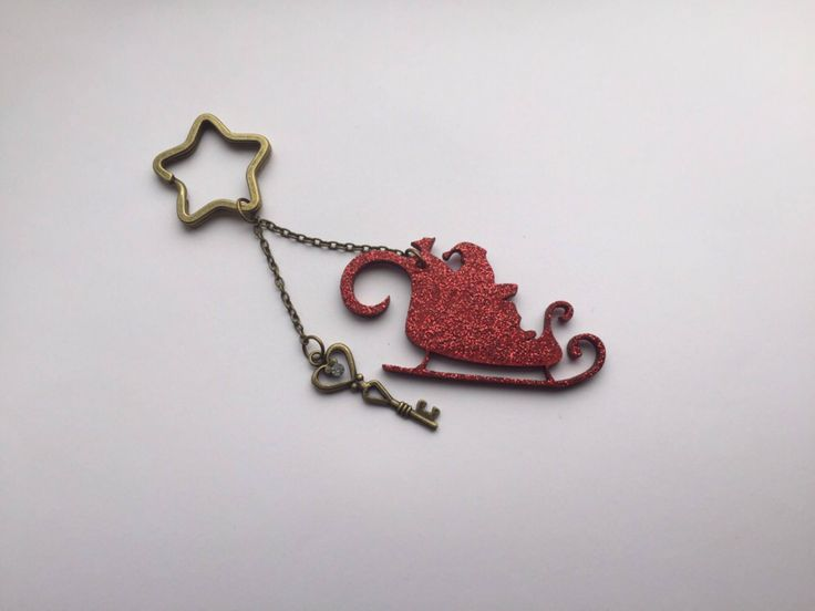 A personal favourite from my Etsy shop https://www.etsy.com/uk/listing/558894257/christmas-sleigh-keyring-christmas