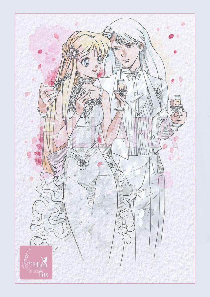 Art made to order_SailorMoon by Pillara Sailor moon